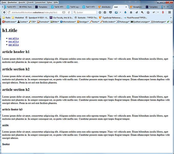 09 Layouts, Templates und Partials in TYPO3 ansprechen | TYPO3 ...